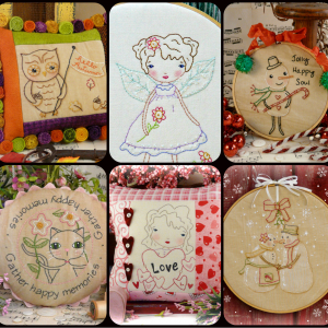 Embroidery & stitchery patterns
