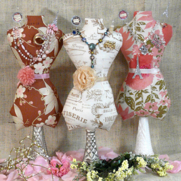 Large Mannequin Dress Form Pattern