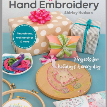 Lovely little hand embroidery book- by Shirley Hudson author