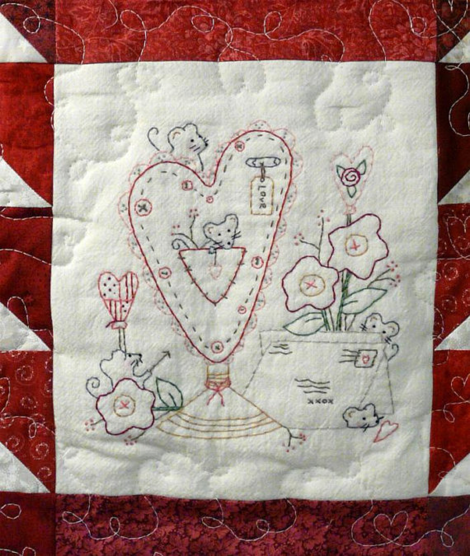 Christmas Embroidery Blanks